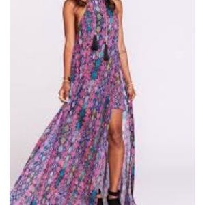 NWT Show Me Your Mumu Bronte Maxi Dress Large